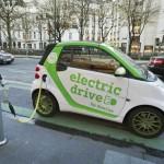 Auto elettrica colonnina